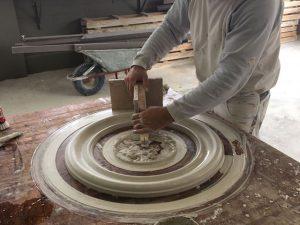 Restoration von Stuckelementen