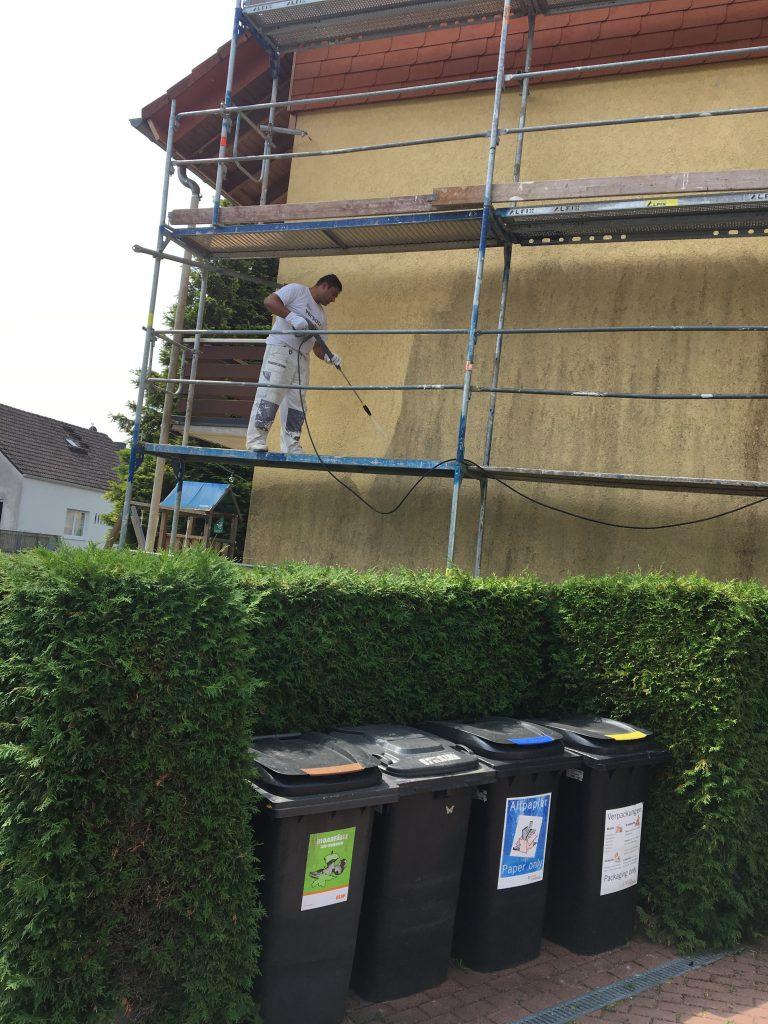 Häuserfassaden reinigen,  Fassaden reinigen