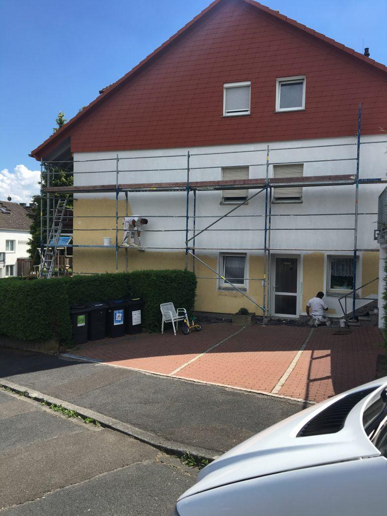 Fassaden streichen